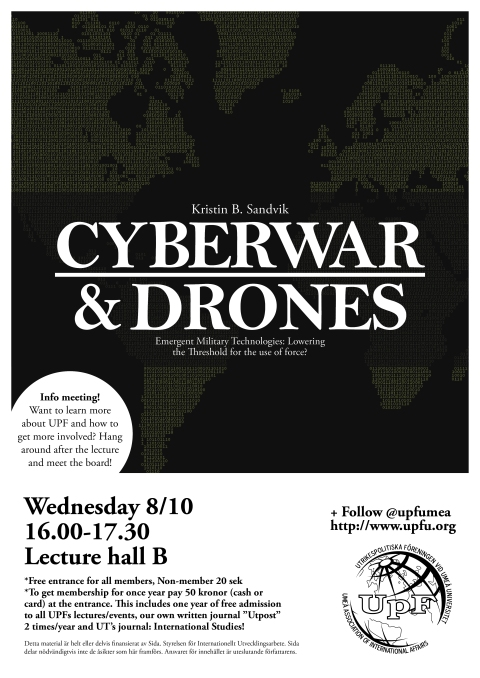 Cyberwar and Drones